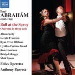 ABRAHAM - BALL AT THE SAVOY